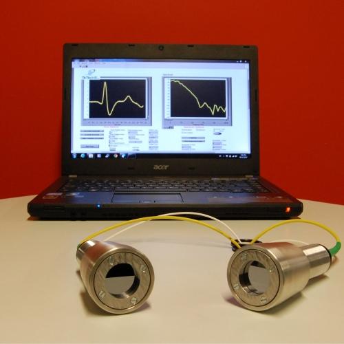 Terahertz Fiber Coupled Spectrometer
